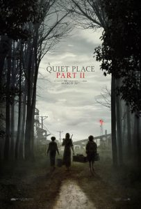 Movie poster for A Quiet Place Part 2.