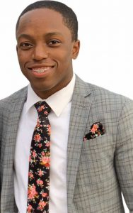 Photo of Angelo Douillon, SGA president for Homestead Campus.