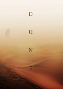 Movie poster for Dune.