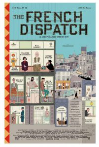Movie poster for The French Dispatch.