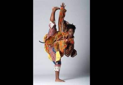 Brittany Williams in a dance pose.