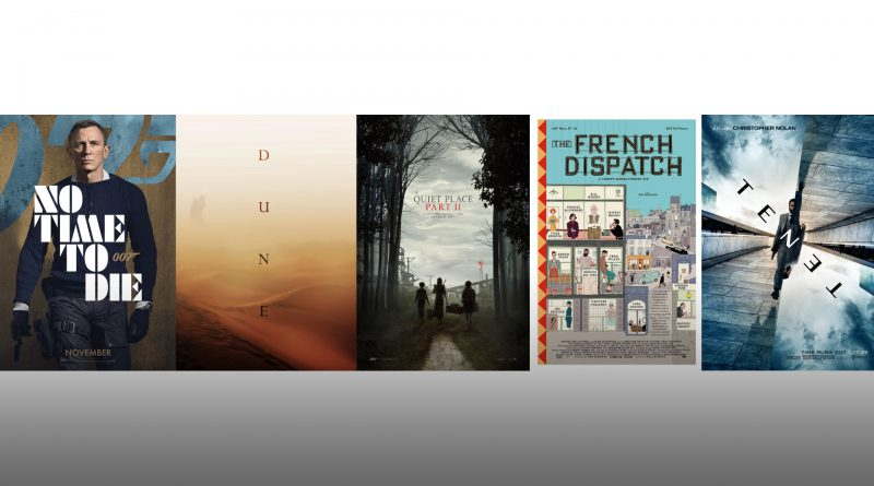 Five movies to watch after quarantine.