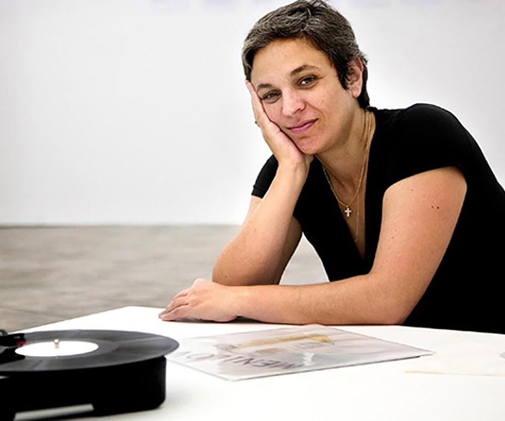 Photo of artist Dora Garcia.