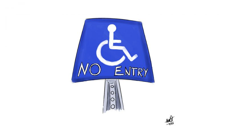 Disabled community injustices.