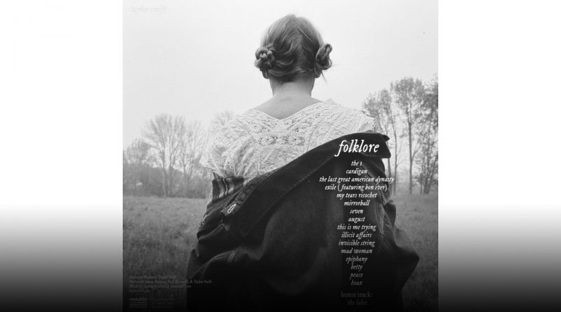 Folklore album cover.