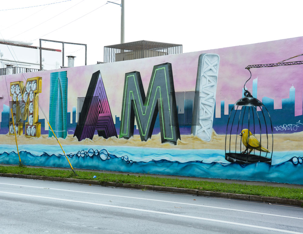 Miami mural.