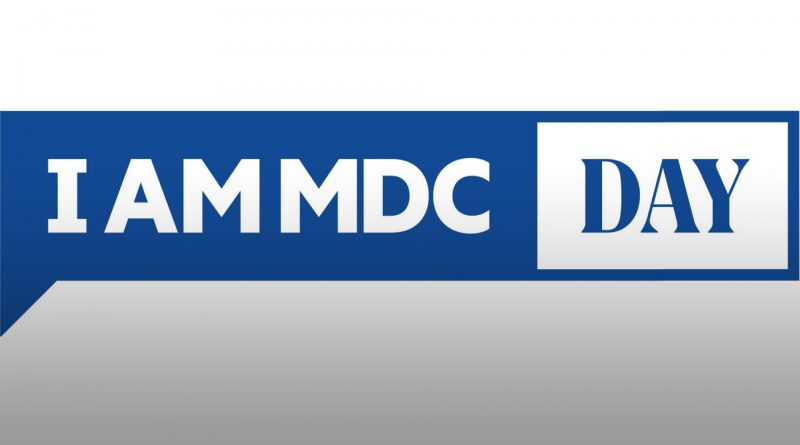 I am MDC Day banner.