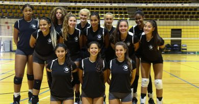 Lady Sharks Volleyball Team