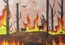 Wildfires illustration by Carolina Soto.