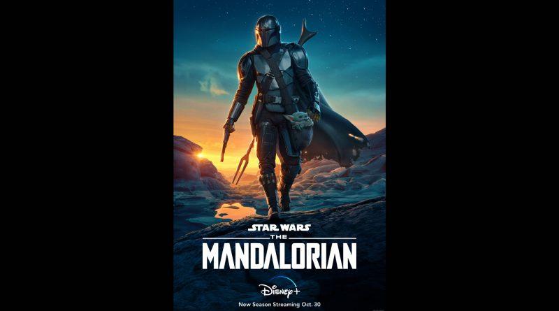 The Mandalorian poster.